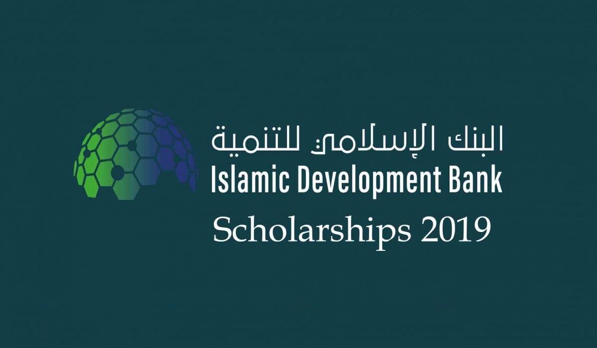 ISLAMIC DEVELOPMENT BANK (ISDB) SCHOLARSHIP 2019