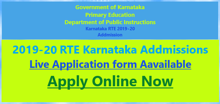 RTE 2019, Apply online Today, Last date for applying is 15th April 2019