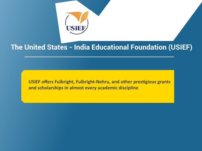 USIEF offers Fulbright-Nehru prestigious grants and