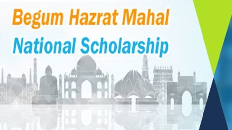 BEGUM HAZRAT MAHAL NATIONAL SCHOLARSHIP 2019-2020 (MAEF)