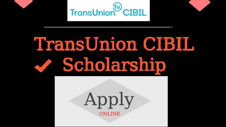 TransUnion CIBIL Scholarship for 1st/2nd Year-B.Sc. Nursing 2019-2020