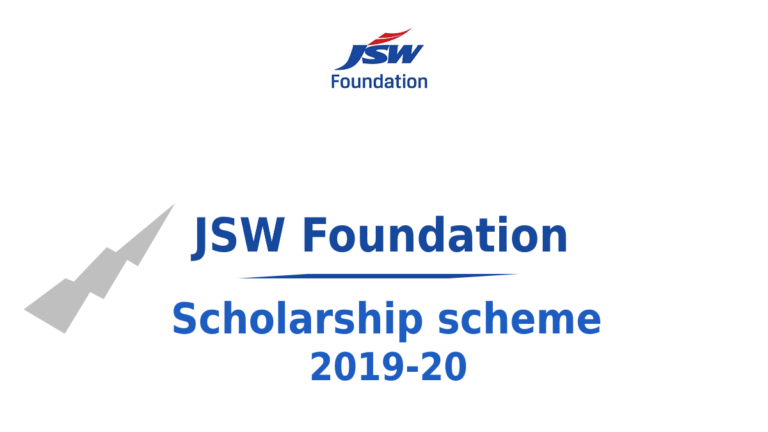 JSW UDAAN Scholarship for Professional Degree Courses 2019-2020