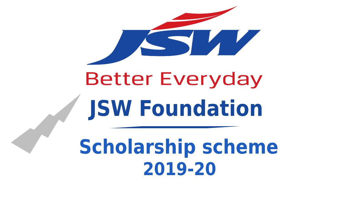 JSW UDAAN Scholarship for  Post Graduate Degree Courses 2019-2020