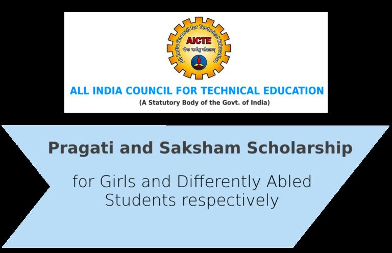 Pragati and Saksham Scholarship 2019-2020