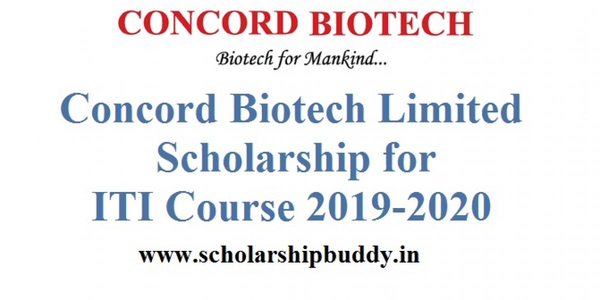 Concord Biotech Limited Scholarship for ITI Course 2019-2020