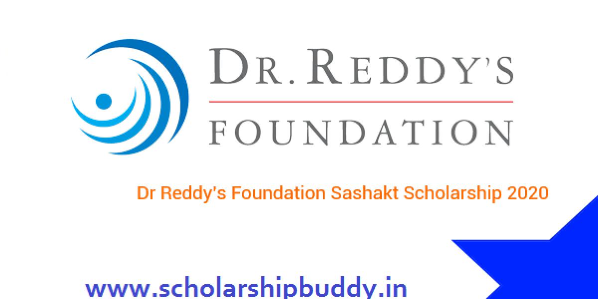 Dr. Reddy's Sashakt Scholarship 2020