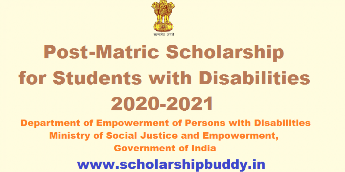 Post Matric Scholarship for Students with Disabilities 2020-2021|How to Apply, Eligibility, Benefits, Application form