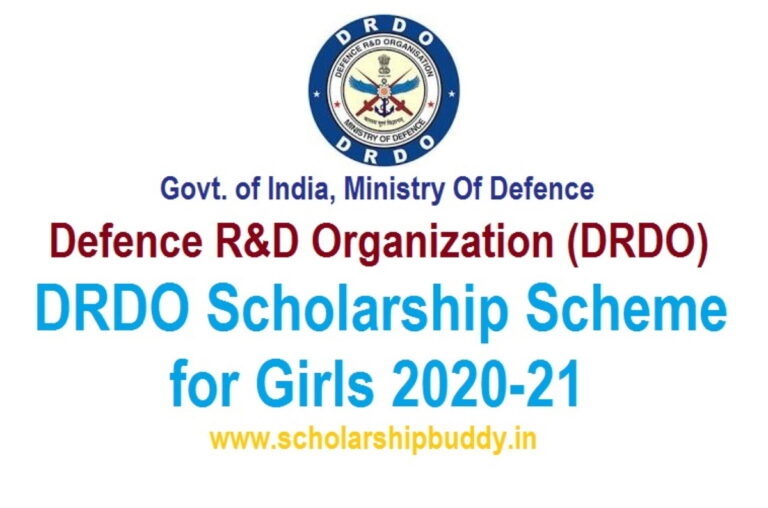 DRDO Scholarship Scheme for Girls 2020-2021|How to Apply, Eligibility, Benefits.